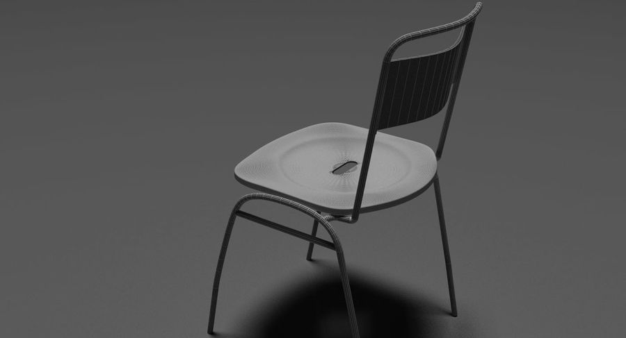 Restaurangbord (4) royalty-free 3d model - Preview no. 24