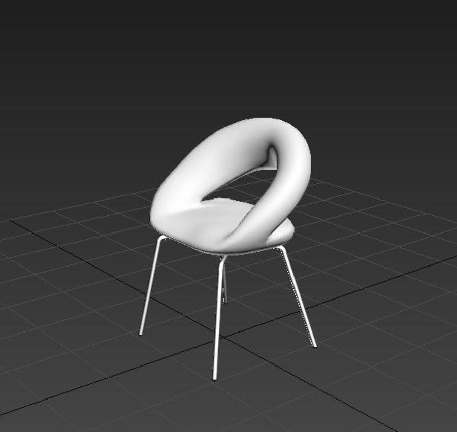 Krzesło-stołek royalty-free 3d model - Preview no. 2