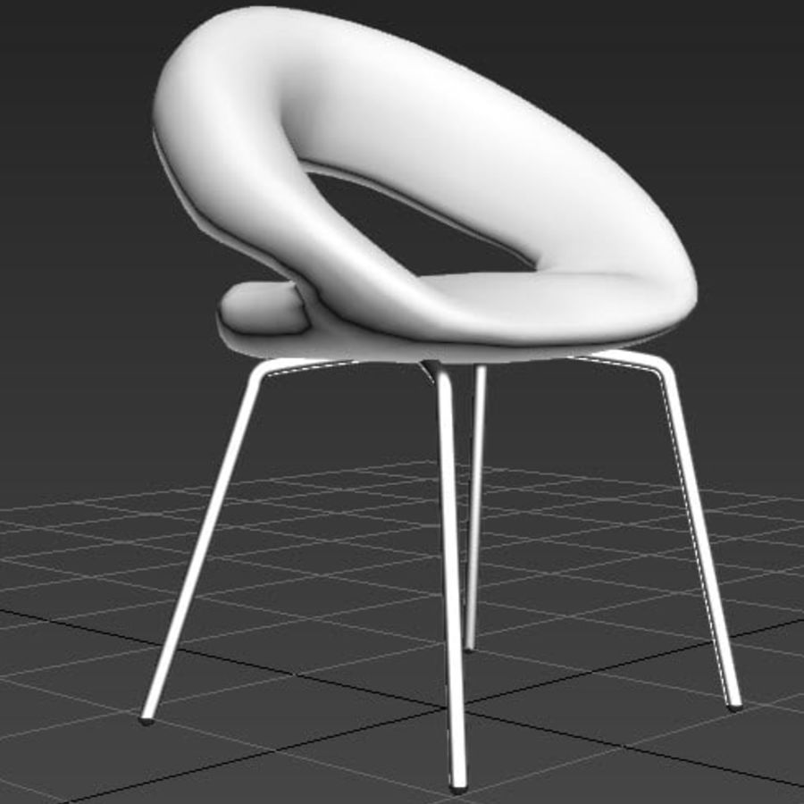 Krzesło-stołek royalty-free 3d model - Preview no. 5