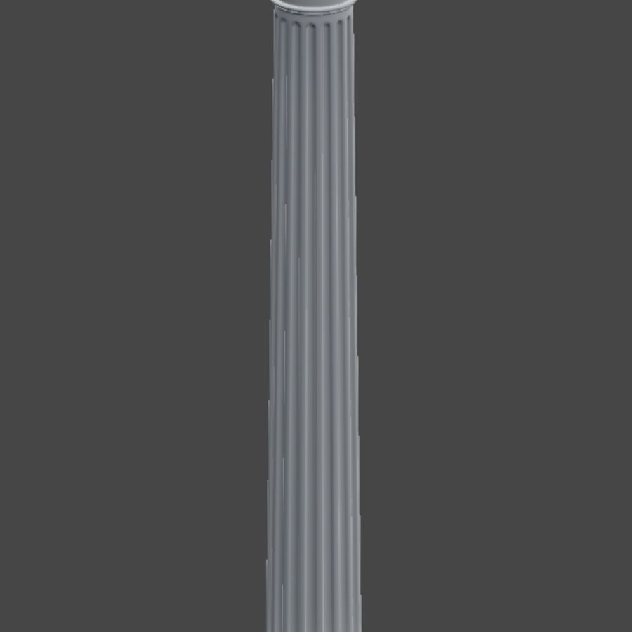 Doric Column royalty-free 3d model - Preview no. 6