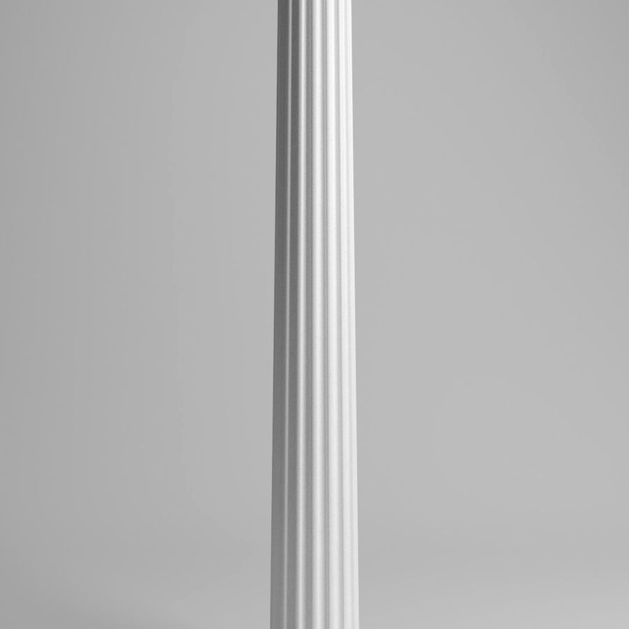 Doric Column royalty-free 3d model - Preview no. 3