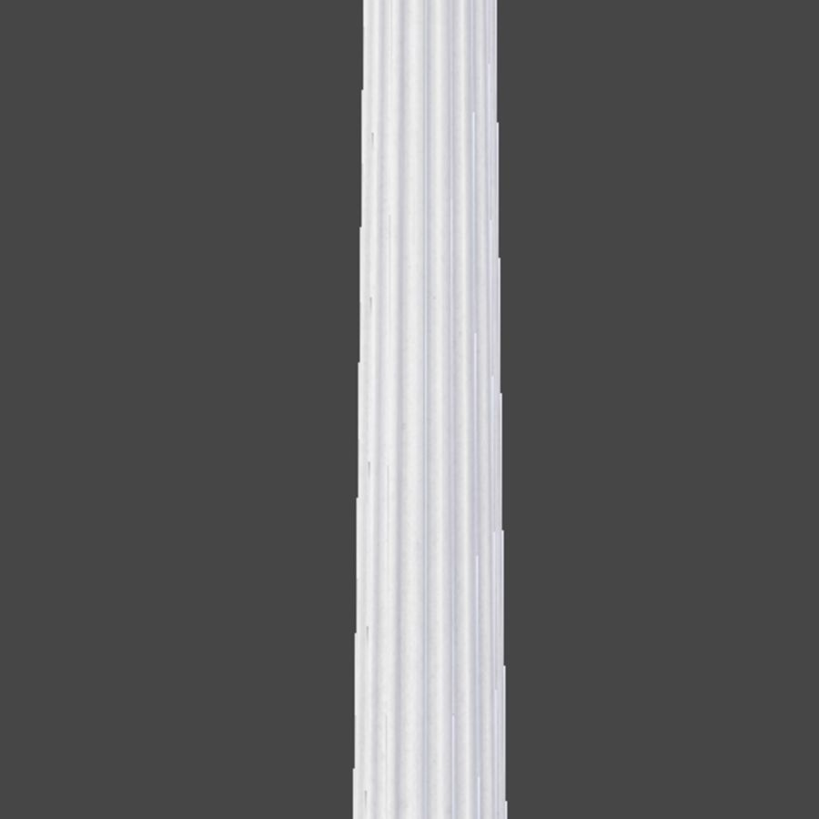 Doric Column royalty-free 3d model - Preview no. 9
