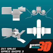 SpaceShips 3 3d model