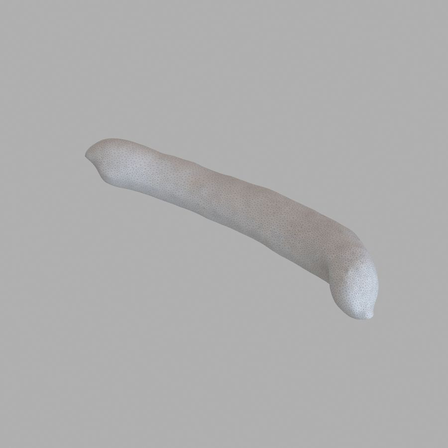 Sausage royalty-free 3d model - Preview no. 8