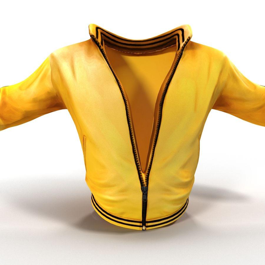 Спортивная куртка royalty-free 3d model - Preview no. 4