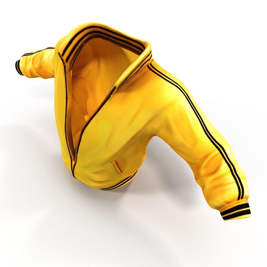 Спортивная куртка royalty-free 3d model - Preview no. 2