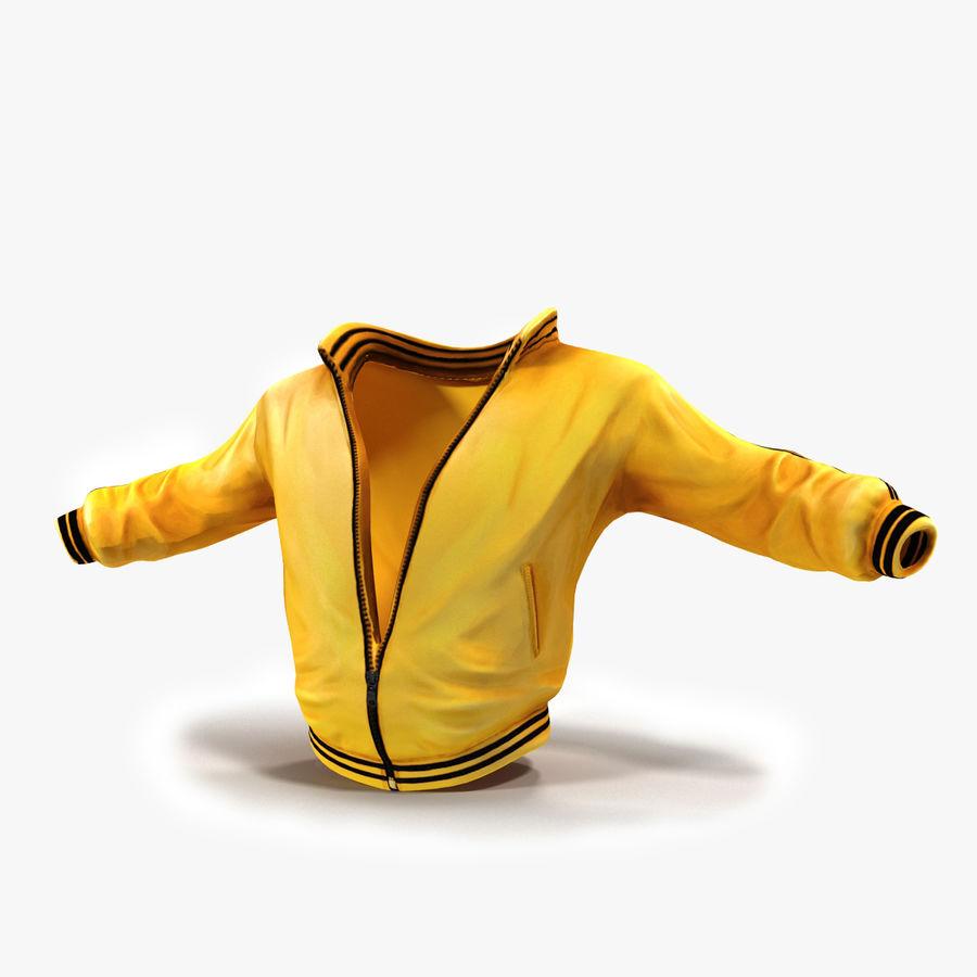Спортивная куртка royalty-free 3d model - Preview no. 1