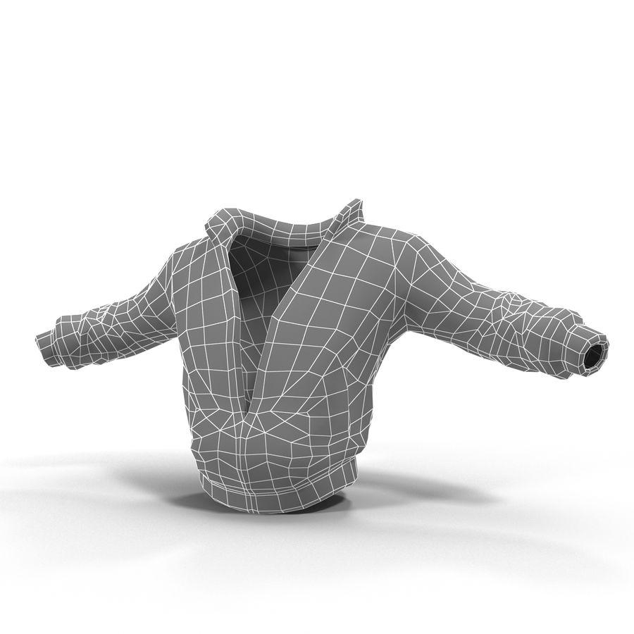 Спортивная куртка royalty-free 3d model - Preview no. 6