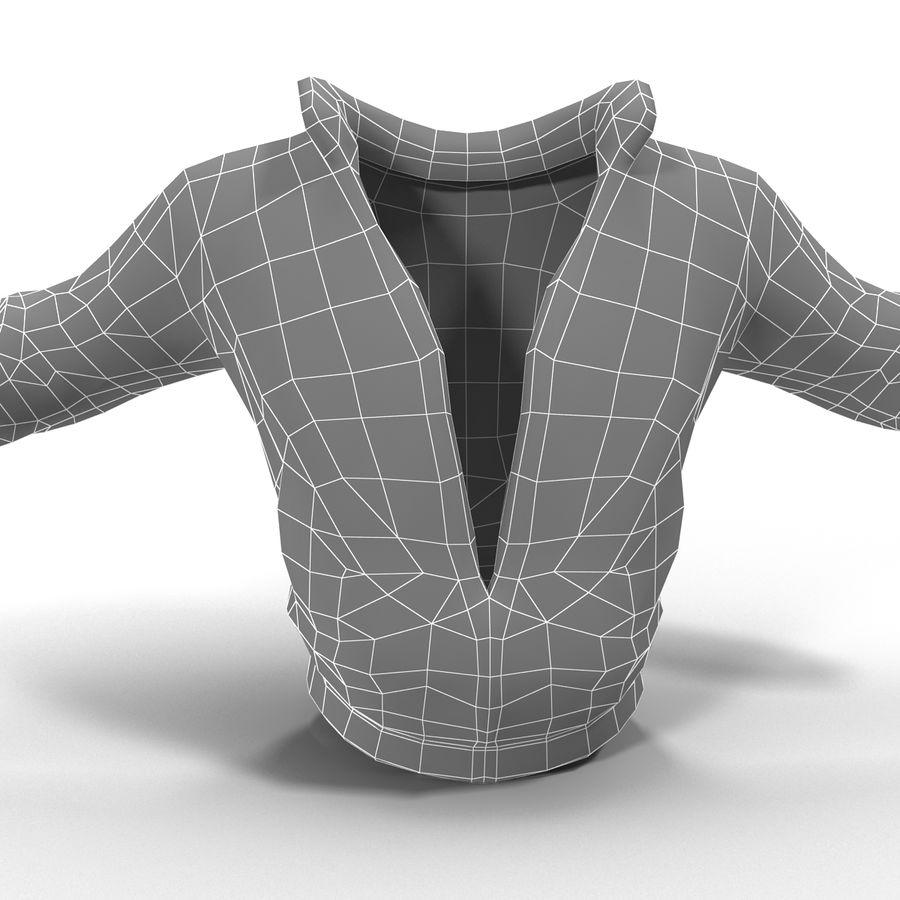Спортивная куртка royalty-free 3d model - Preview no. 11