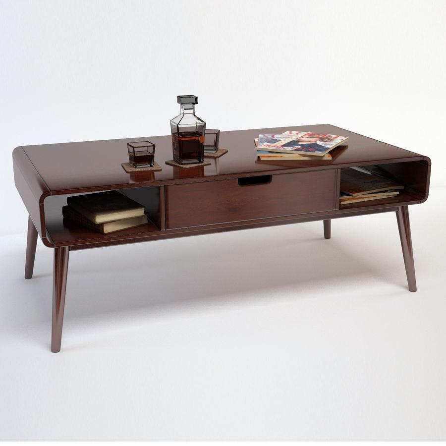 Belham Living Carter Mid Century Modern Coffee Table 3d Model 9 Obj Fbx Max Free3d