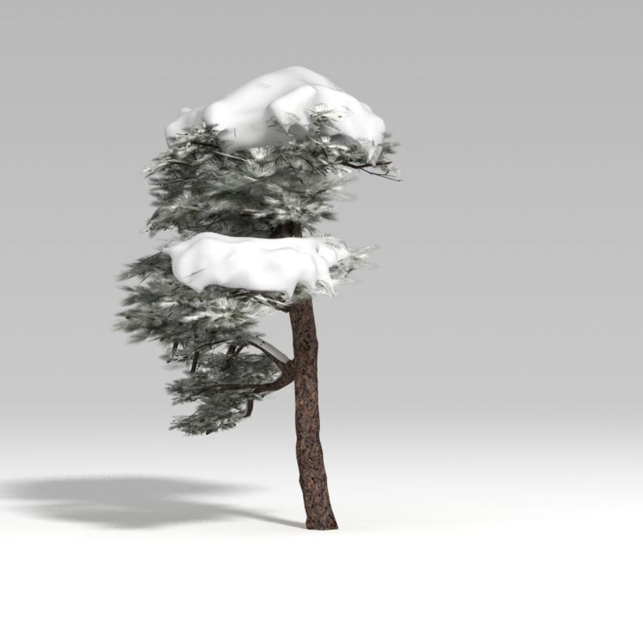 Snowtree V1 royalty-free 3d model - Preview no. 5