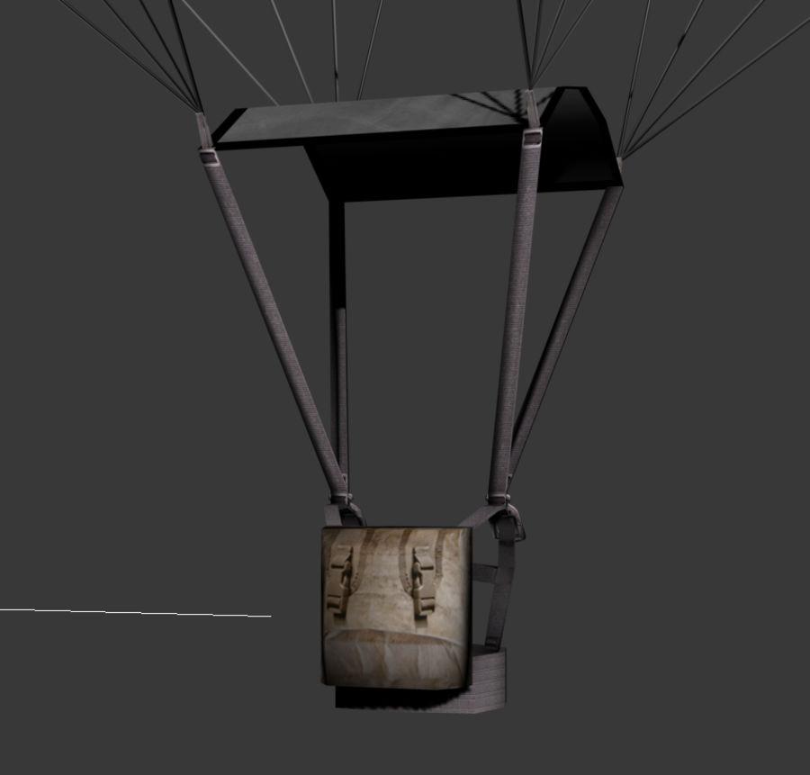 Parachutespel klaar royalty-free 3d model - Preview no. 6