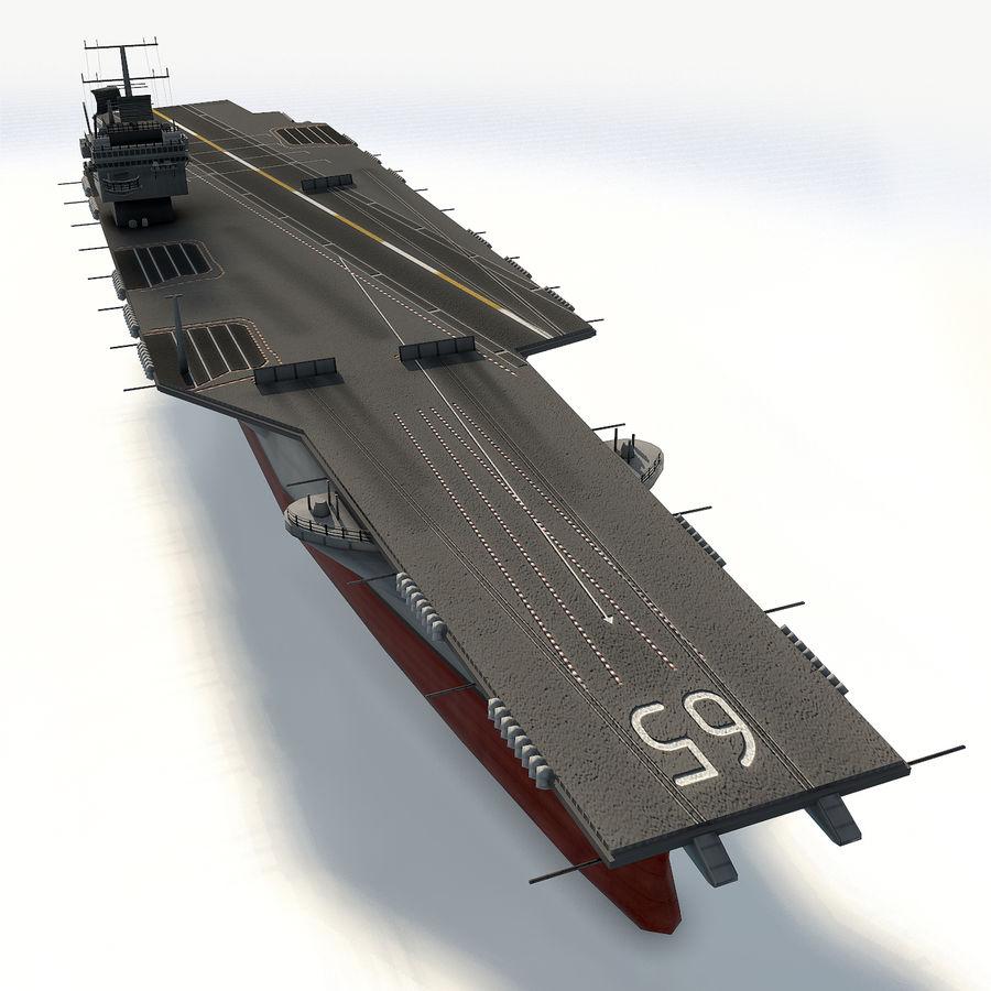 USS enterprise cvn-65 royalty-free 3d model - Preview no. 8