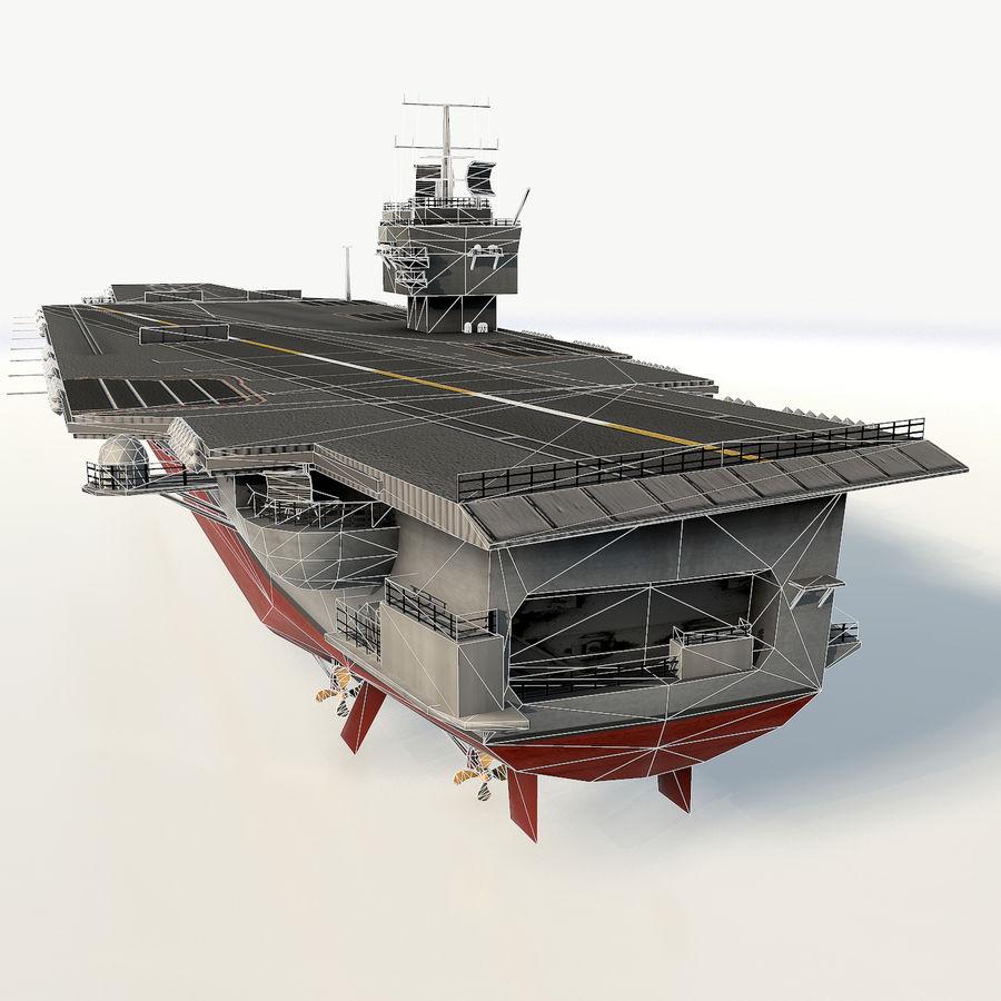 USS enterprise cvn-65 royalty-free 3d model - Preview no. 5