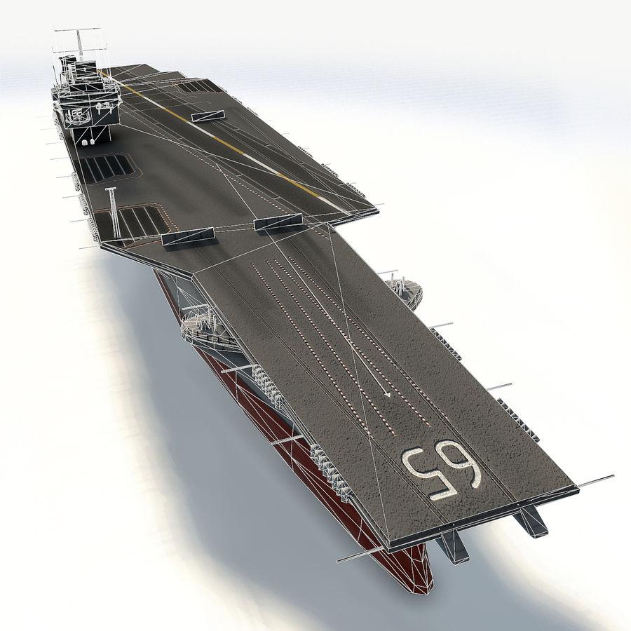 USS enterprise cvn-65 royalty-free 3d model - Preview no. 9