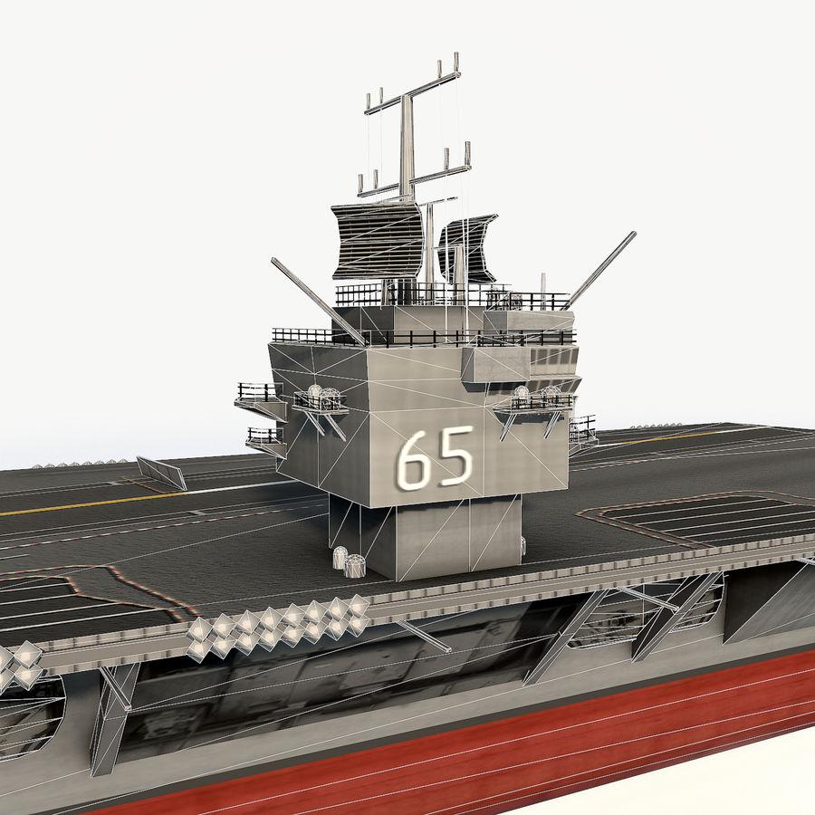 USS enterprise cvn-65 royalty-free 3d model - Preview no. 11