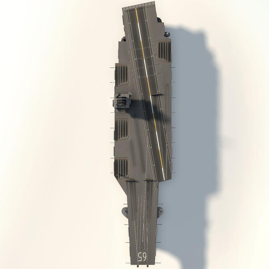 USS enterprise cvn-65 royalty-free 3d model - Preview no. 12