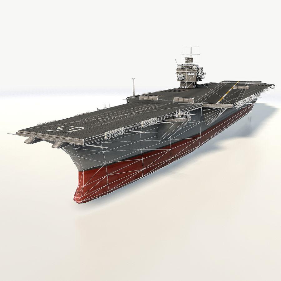 USS enterprise cvn-65 royalty-free 3d model - Preview no. 3