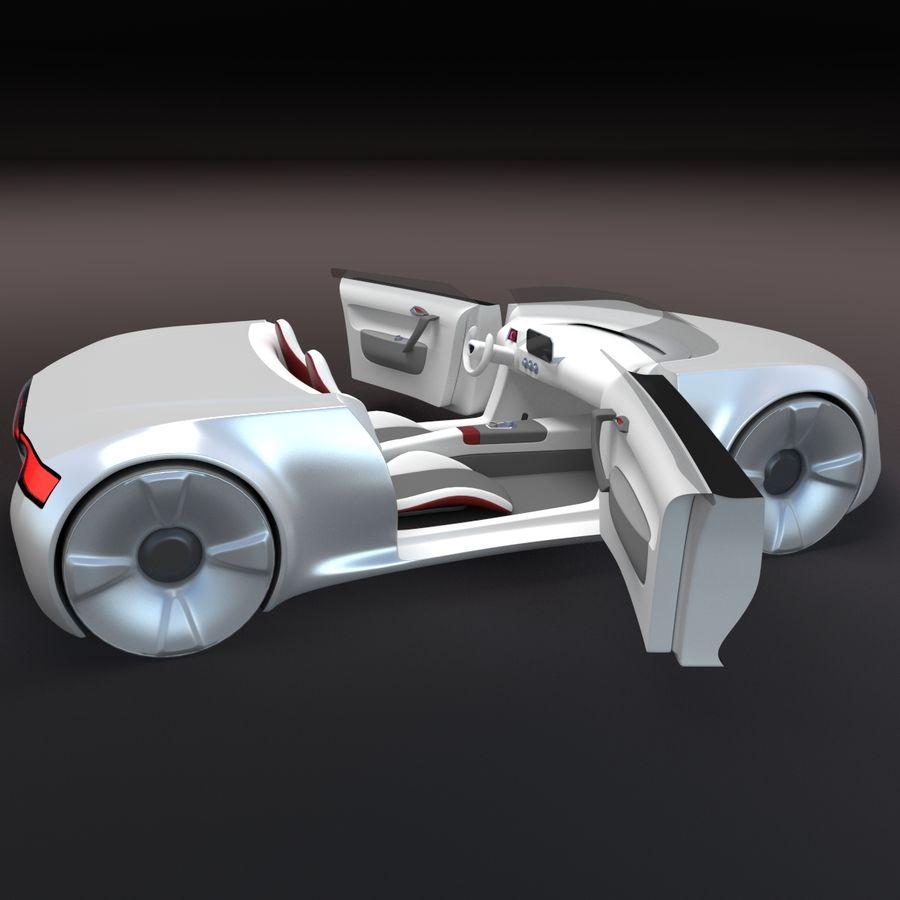 concept de sport cabrio 1 royalty-free 3d model - Preview no. 1