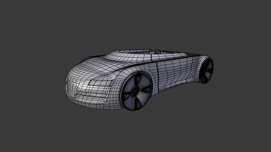 concept de sport cabrio 1 royalty-free 3d model - Preview no. 8
