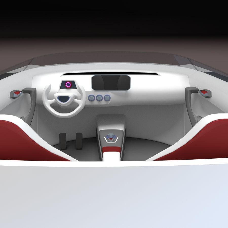 concept de sport cabrio 1 royalty-free 3d model - Preview no. 7