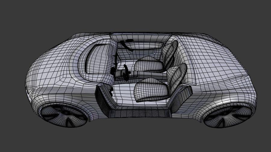 concept de sport cabrio 1 royalty-free 3d model - Preview no. 10