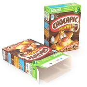 Caja De Cereales - Nueces modelo 3d