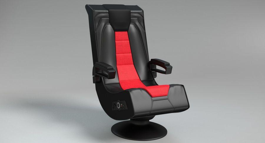 Chaise de jeu royalty-free 3d model - Preview no. 3