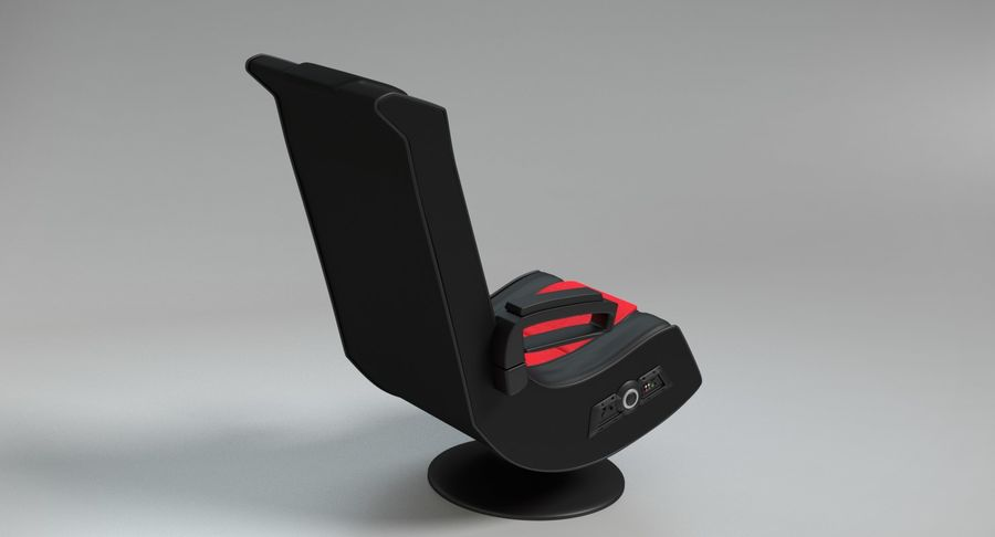 Chaise de jeu royalty-free 3d model - Preview no. 5