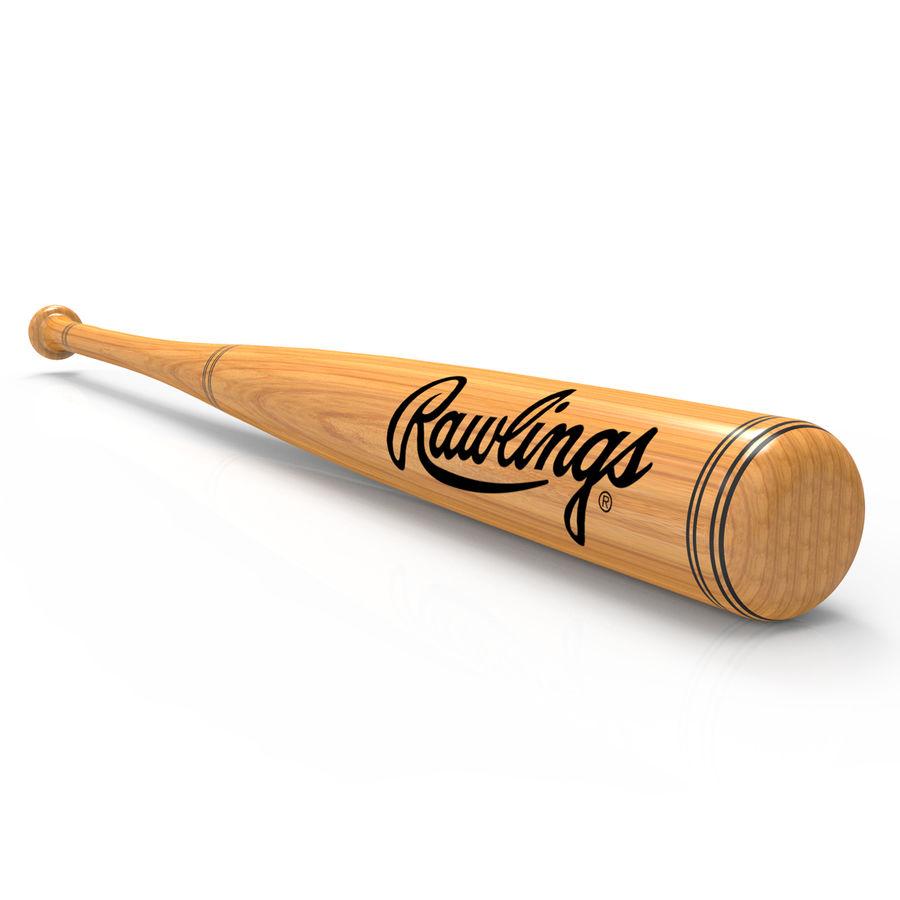 baseball bat royalty-free 3d model - Preview no. 1