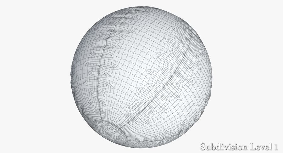 Beach Ball 3 Metalic royalty-free 3d model - Preview no. 13