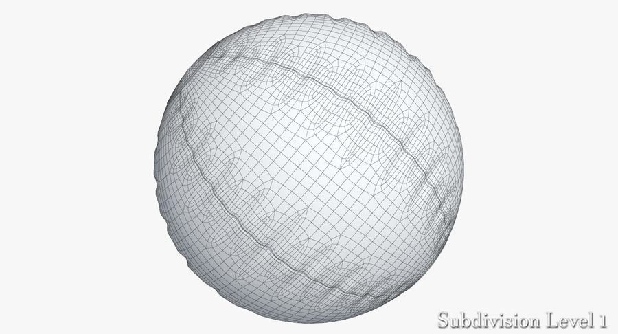 Beach Ball 3 Metalic royalty-free 3d model - Preview no. 11