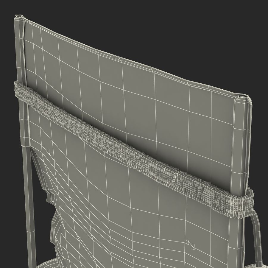 Camping Chair 2 royalty-free 3d model - Preview no. 32