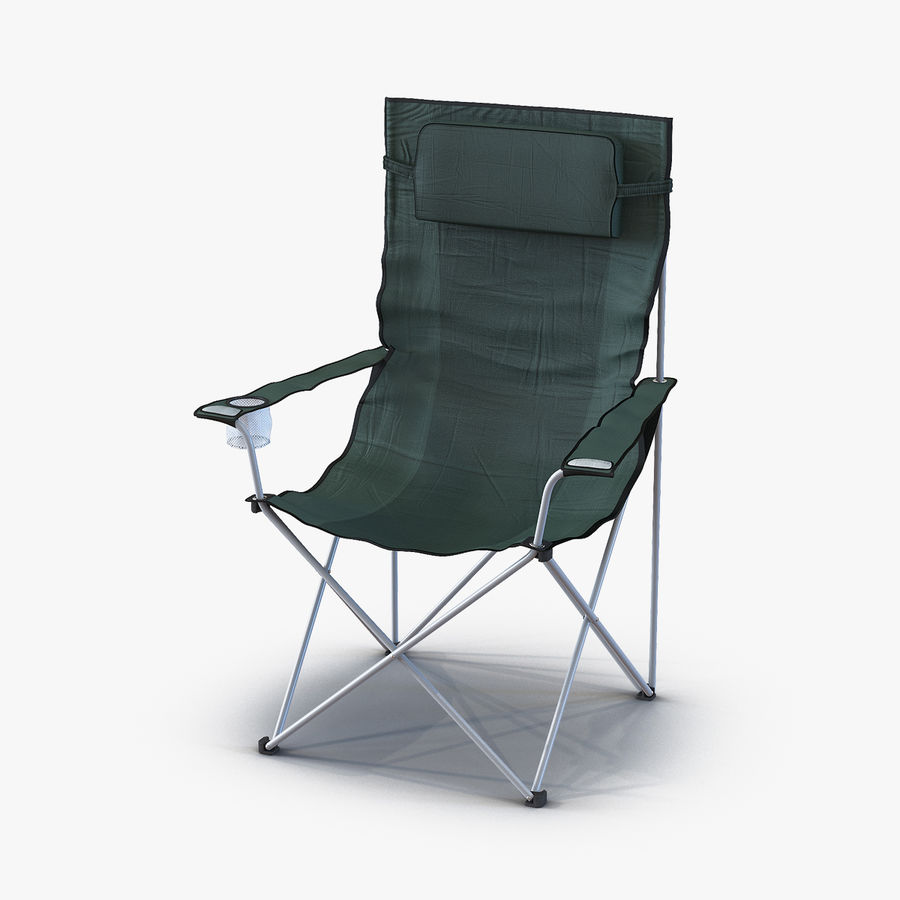 Camping Chair 2 royalty-free 3d model - Preview no. 1