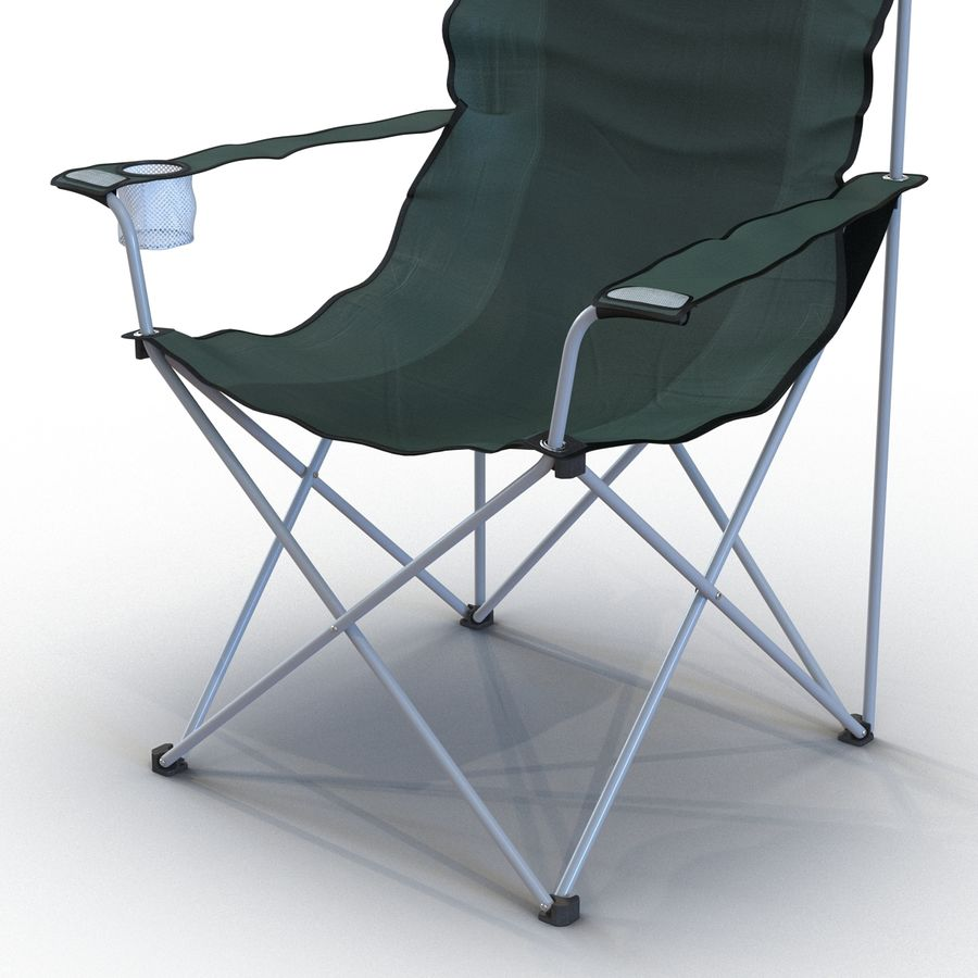 Camping Chair 2 royalty-free 3d model - Preview no. 12