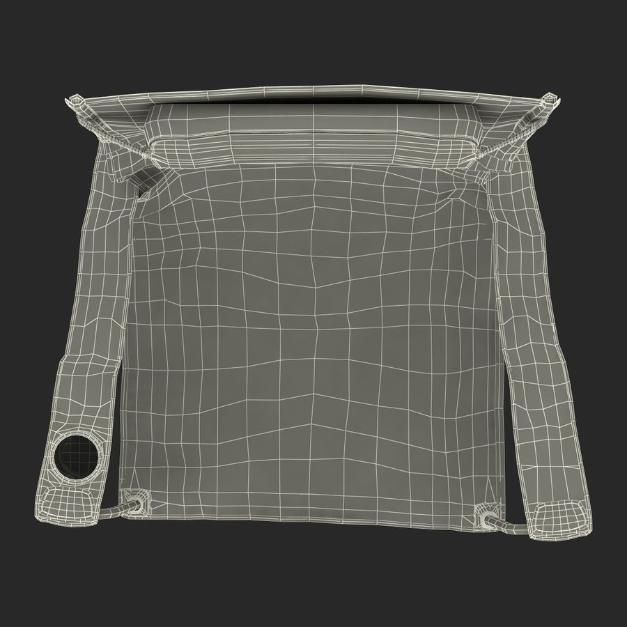 Camping Chair 2 royalty-free 3d model - Preview no. 26