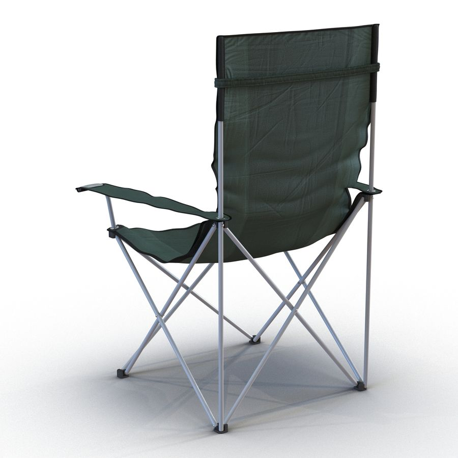 Camping Chair 2 royalty-free 3d model - Preview no. 6