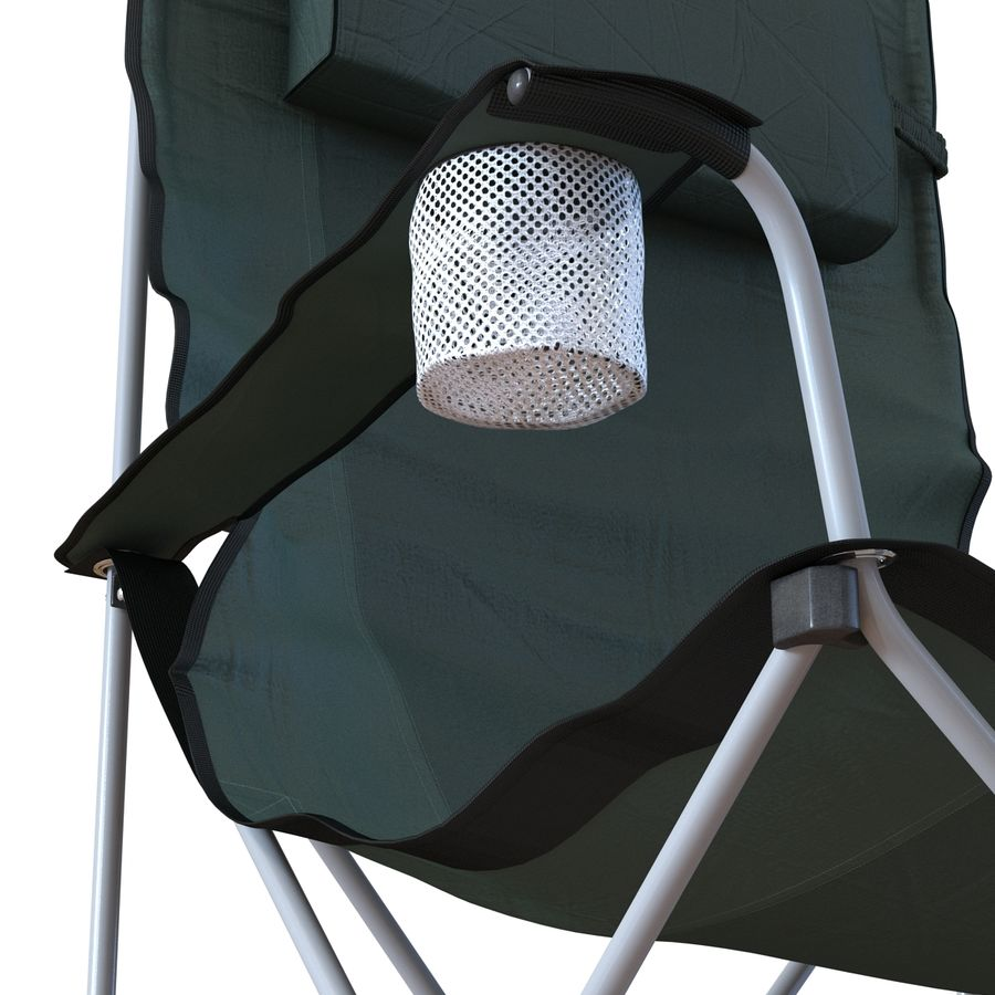 Camping Chair 2 royalty-free 3d model - Preview no. 15