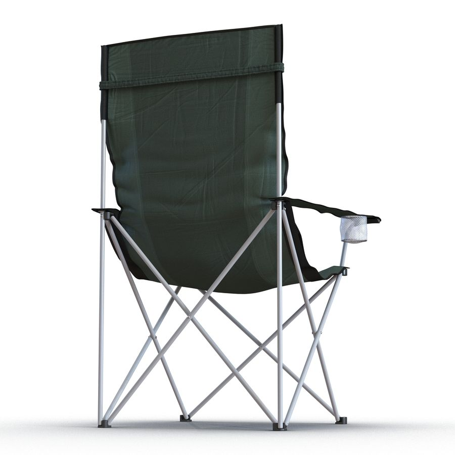 Camping Chair 2 royalty-free 3d model - Preview no. 7