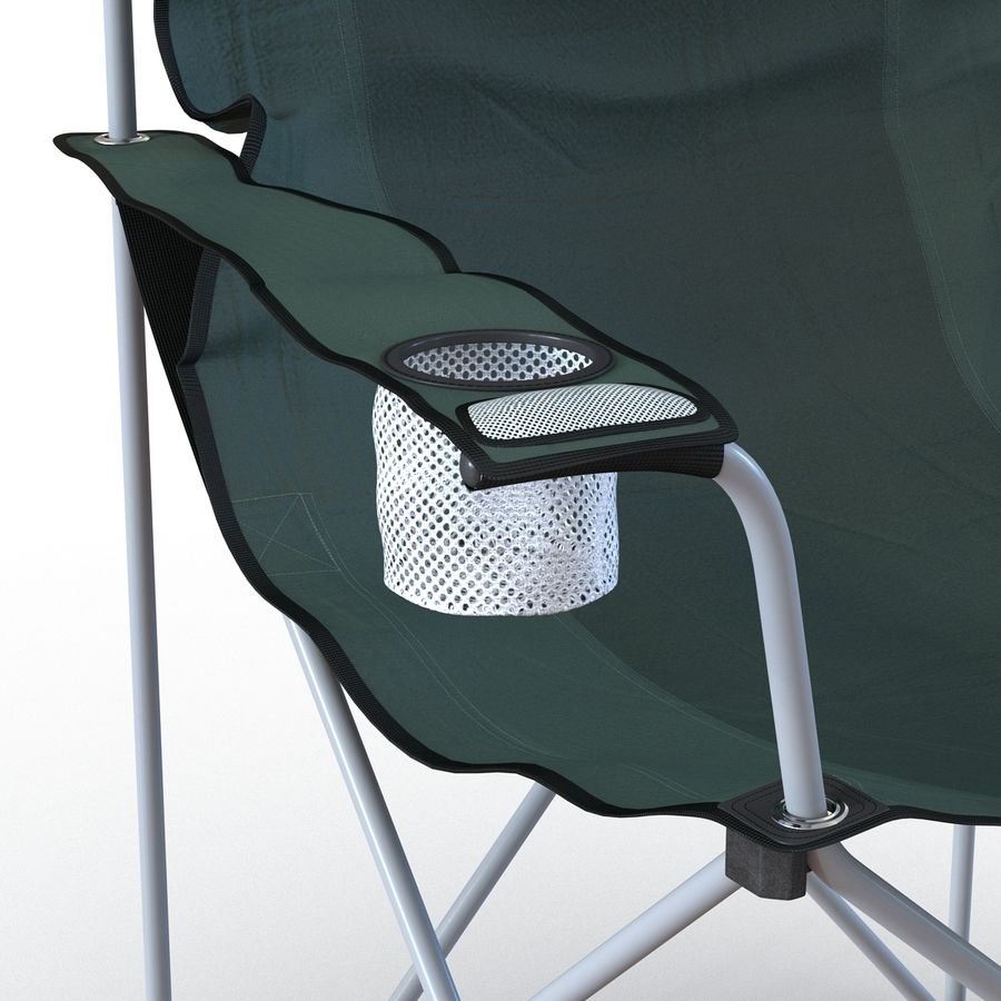 Camping Chair 2 royalty-free 3d model - Preview no. 14