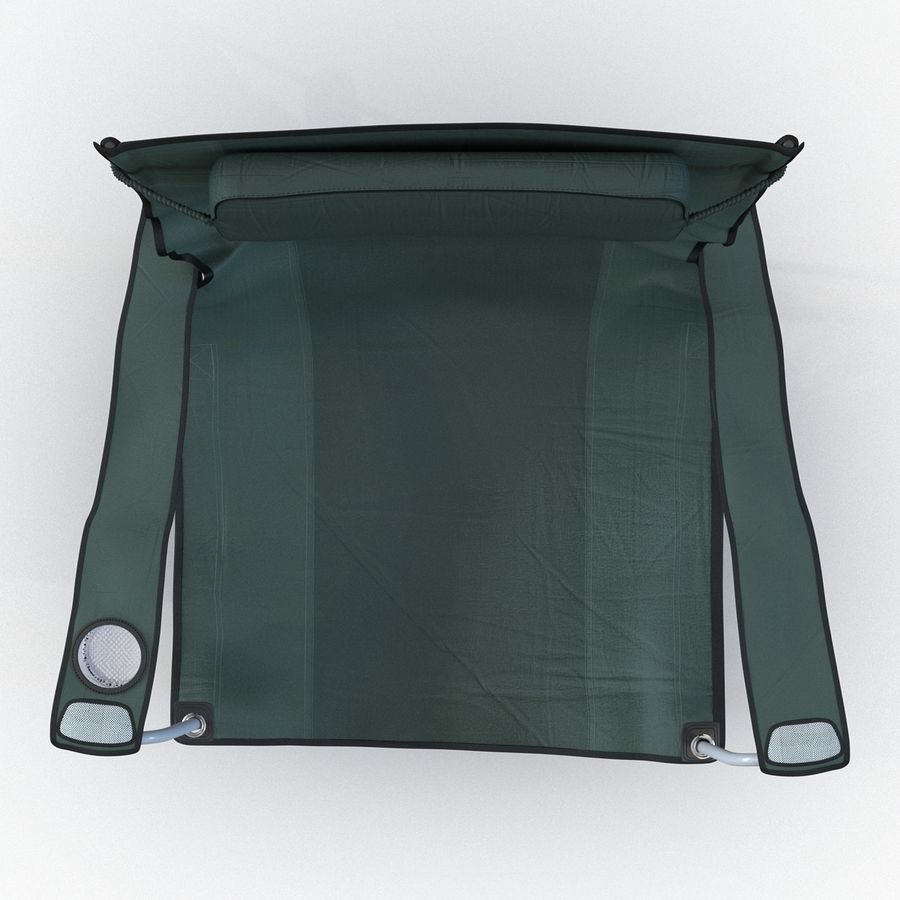 Camping Chair 2 royalty-free 3d model - Preview no. 9