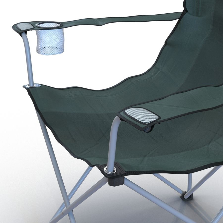 Camping Chair 2 royalty-free 3d model - Preview no. 13