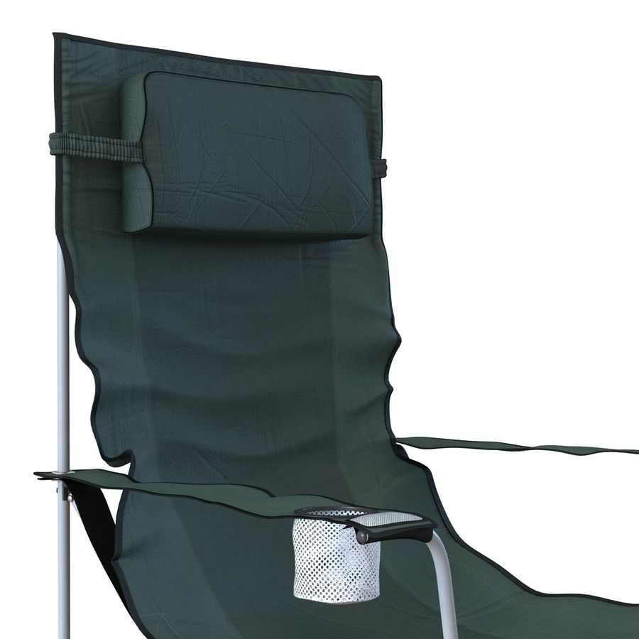 Camping Chair 2 royalty-free 3d model - Preview no. 11