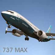 737 MAX 3d model