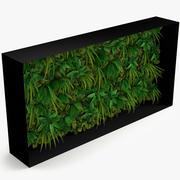 Yeşil duvar 3d model