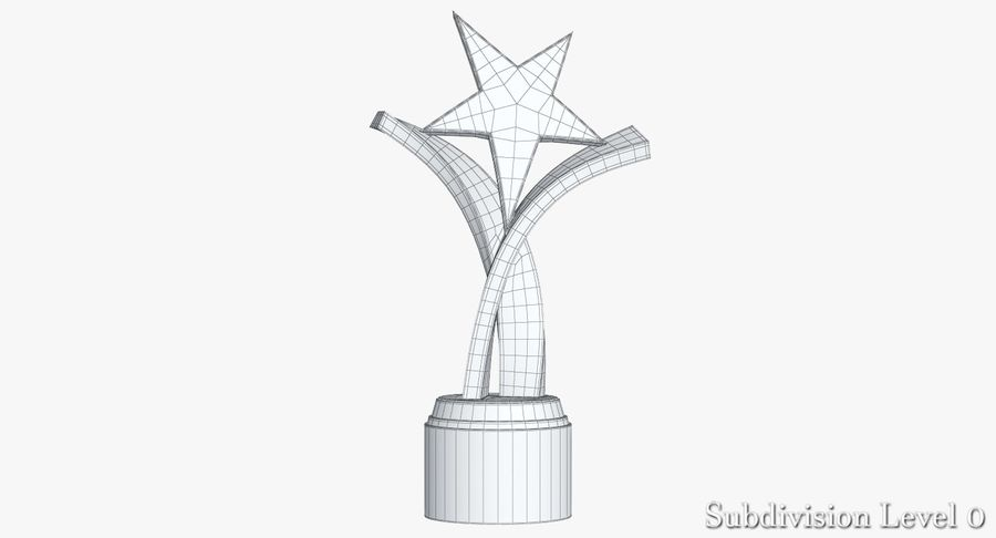 Award Trophy 2 royalty-free 3d model - Preview no. 9
