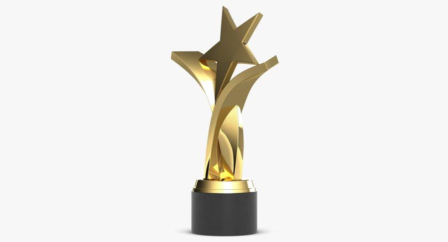 Nagroda Trofeum 2 royalty-free 3d model - Preview no. 4