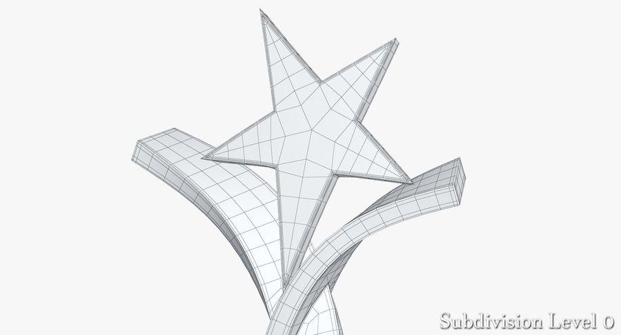 Nagroda Trofeum 2 royalty-free 3d model - Preview no. 17