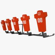 サッカートレーニング用ダミー03 3d model