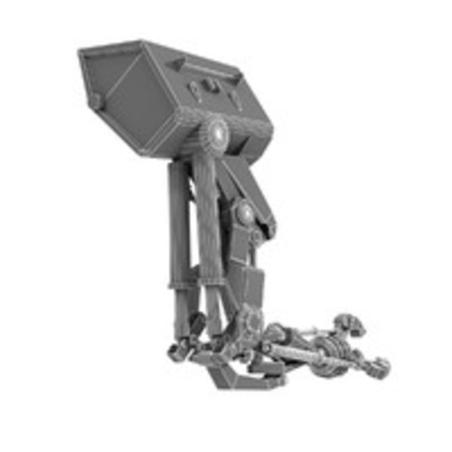 Robot Hand royalty-free 3d model - Preview no. 9